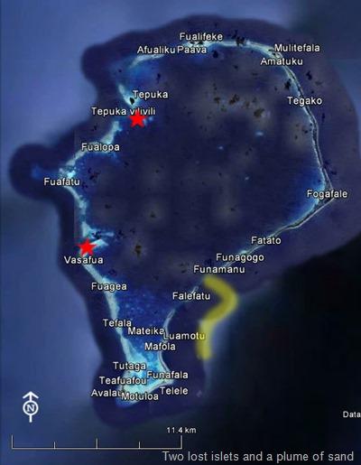 Funafuti Plume&islets